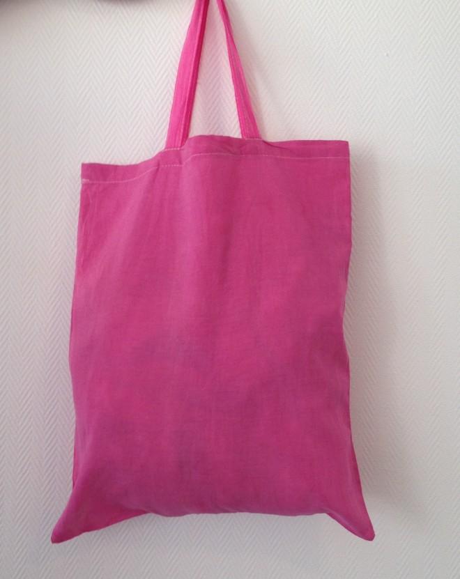 DIY Tote Bag coloré