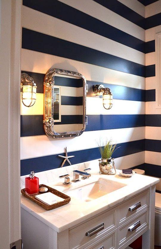cahier d inspiration salle de bains nautique. Black Bedroom Furniture Sets. Home Design Ideas